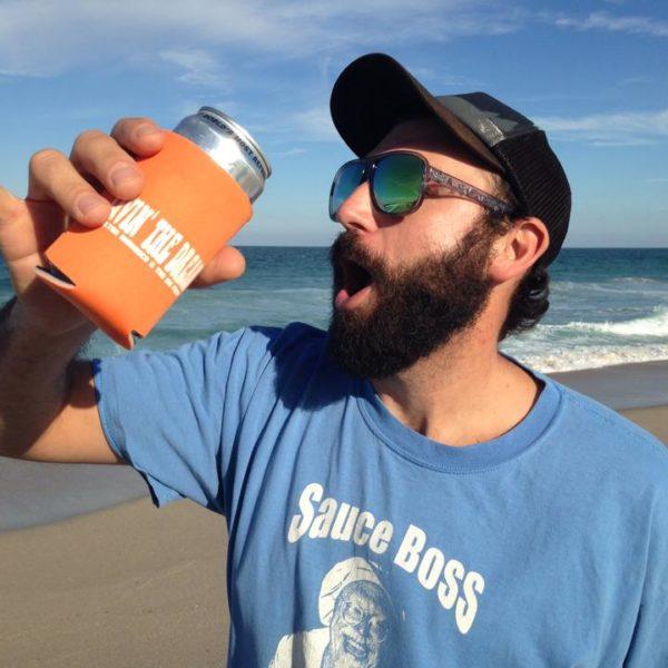 Livin' The Dream Beer Koozie